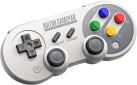 8Bitdo SF30 PRO - Manette Bluetooth - Pour Nintendo Switch/Windows/Android/iOS - Gris