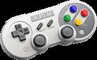 8Bitdo SF30 PRO - Bluetooth Gamepad - Für Nintendo Switch/Windows/Android/iOS - Grau