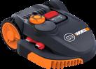 WORX Landroid WR110MI - Tondeuse à gazon robotisée - Wi-Fi - Noir
