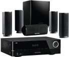 harman/kardon AVR 171S + HKTS 16 - 7.2-Kanal-AV-Receiver + 5.1 Lautsprecher - 700 Watt - Schwarz