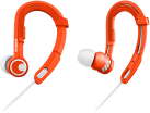 PHILIPS SHQ3300OR/00 - ActionFit Casque Sport - Résistant à la transpiration et à l'eau - Orange