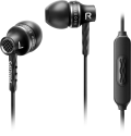 PHILIPS SHE9105BS/00 - Cuffia con microfono - Driver a 8.6 mm - nero