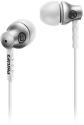 PHILIPS SHE8100SL/00 - In-Ear Kopfhörer - Robustes Aluminium - Silber