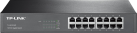 TP-LINK TL-SG1016D - 16-Port-Gigabit-Switch - Plug-and-Play - Schwarz