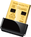 TP-LINK AC450 - scheda di rete wireless USB - 433 Mbit/s - nero/oro