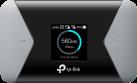 TP-LINK M7310 - mobile Wi-Fi 4G LTE-Advanced - 150 Mbps - Schwarz / Silber