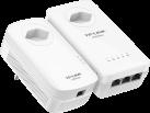 TP-LINK TL-WPA8630P KIT - AV1200-AC-WLAN-Powerline-Extender KIT - mit Frontsteckdose - Weiss