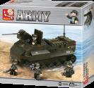 Sluban Bausteine Army Serie Panzerfahrzeug