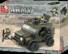 Sluban Elements Army Serie Suv
