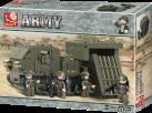 Sluban Bausteine Army Serie Raketenwerfer