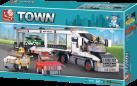 Sluban Elements Town Serie Transporter de Voitures