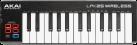 AKAI LPK25 Sans-fil - Clavier à 25 touches - Bluetooth - Noir/Rouge