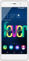 Wiko Fever 4G Dual-SIM - téléphone intelligent Android - 16 Go - blanc / or