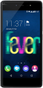 Wiko Fever 4G Dual-SIM - Android Smartphone - 16 GB - Schwarz / Grau