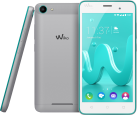 Wiko Jerry - Android Smartphone - Dual-SIM - Türkis/Silber