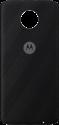 MOTOROLA Moto Mod Style Shell - Hintere Abdeckung für Moto Z - Fischgrätmuster Nylon - Schwarz