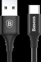 Basues A2 - Lade- und Sync- Kabel - 1 m - Schwarz