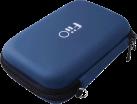 FiiO HS7 - Schutztasche - Reissverschluss - Blau
