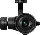 dji ZENMUSE X5 - Drohnenkamera - 4K Video - Schwarz