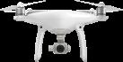 dji Phantom 4 - Drohne + Akkuladestation - 0-10 m - Weiss