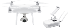 dji Phantom 4 Pro - Drone - 4K - blanc