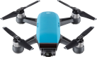 dji Spark Fly More Combo - Mini-Quadcopter - FaceAware (Gesichtserkennung) - Blau