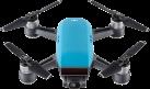 dji Spark Fly More Combo - Mini-Quadcopter - FaceAware (Gesichtserkennung) - Blau
