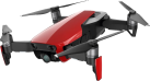 dji Mavic Air Fly More Combo - Drone - Videocamera 4K Full HD - Rosso