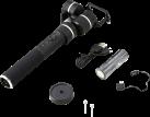 FEIYU TECH G5 Gimbal - Kameragriff - Für Actioncam - Spritzwassergeschützt - Schwarz