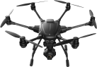 YUNEEC Typhoon H - Hexacopter - 5,8 GHz WiFi - Schwarz
