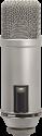 RODE Broadcaster - Microphone à condensateur - Filtre anti-pop interne - Gris