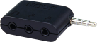 RODE SC6 - Deux entrées TRRS et une sortie casque pour smartphones - Noir