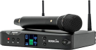 RODE RodeLink Performer Kit - Microfono a condensatore/Ricevitore desktop/Batteria Li-Ion - Nero