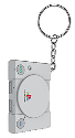 numskull PlayStation Key Chain, PS1