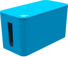 bluelounge CableBox Mini, blau