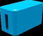 bluelounge CableBox Mini, bleu