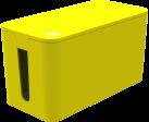 bluelounge CableBox Mini, giallo
