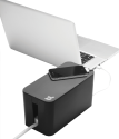 bluelounge CableBox Mini, schwarz