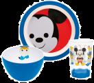 zak!designs Disney Set Repas Mickey, 3 pièces