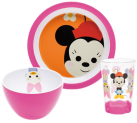 zak!designs Disney Set Repas Minnie, 3 pièces