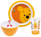 zak!designs Disney Set Repas Winnie, 3 pièces