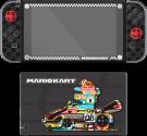 PDP Play & Protect Skin - Mario Kart Design - Für Nintendo Switch und Dock - Grau