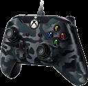 pdp Kabelgebundener Controller mit Audioanschluss - Für Xbox One/PC - Grau/Schwarz