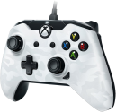 pdp Kabelgebundener Controller mit Audioanschluss - Für Xbox One/PC - Weiss