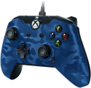 pdp Controller cablato con connessione audio - Per Xbox One/PC - Blu
