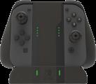 PDP Nintendo Switch Pro Charger Holder - Halterung und Ladestation für Nintendo Switch Joy-Cons - Drop & Charge - Schwarz