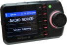 TINY AUDIO C5 - DAB+ Autoradio Adapter - Mit Bluetooth - Schwarz