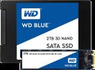 Western Digital Blue 3D Nand SSD M.2 - 500 GB- Solid State Drive - 500 GB - Schwarz