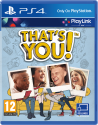 That's you!, PS4, Multilingue