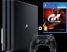 Sony Playstation 4 Pro + Gran Turismo Sport - Spielkonsole - 1 TB - Schwarz